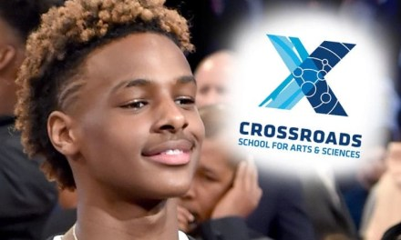 Bronny Jr. Going to Crossroads Private High School