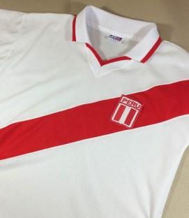 Peru FIFA White Polo