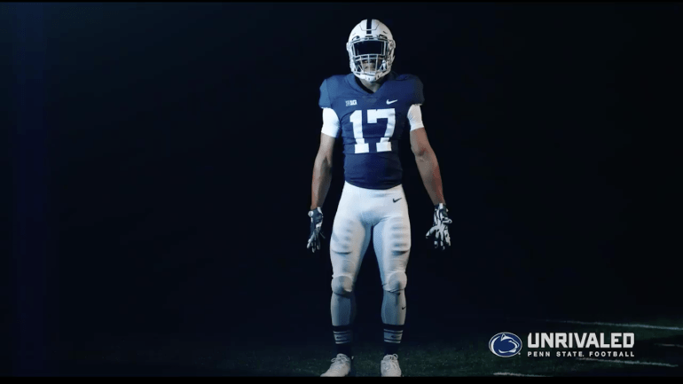 LOOK Penn State To Wear Retro Uniforms Against Indiana