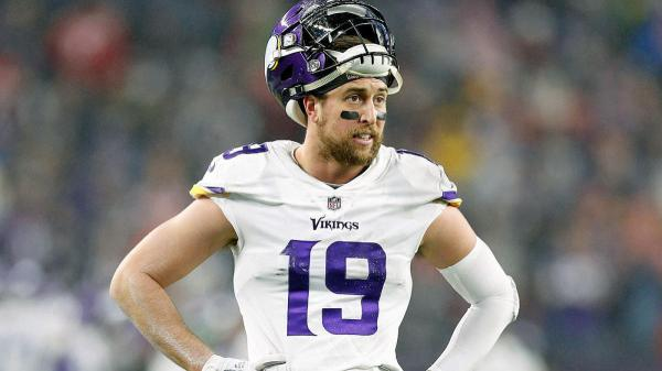Adam Thielen questionable with hamstring injury after spectacular touchdown catch