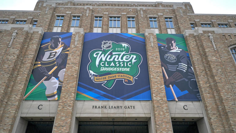 4aa4b791a39 2019 NHL Winter Classic: What to know about Blackhawks-Bruins at Notre Dame  Stadium