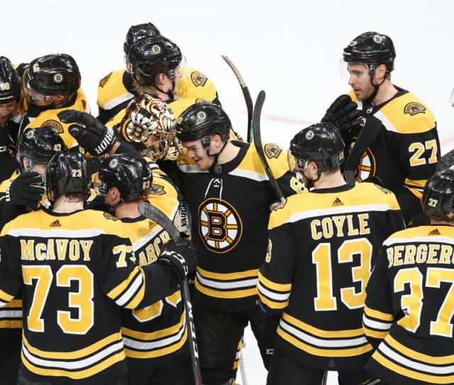 Stanley Cup Playoffs Results Bruins Score Four Unanswered Top