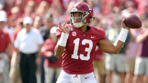 Tua Tagovailoa sets Alabama career touchdown record after just 20 starts under center for the Tide