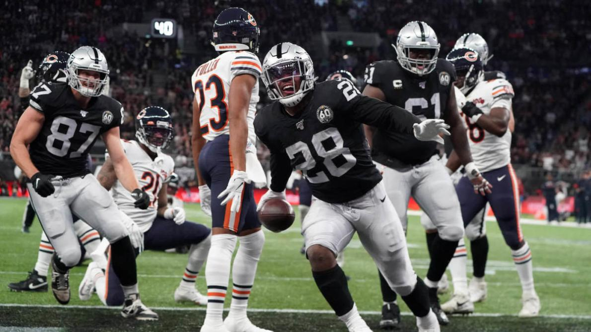Bears vs. Raiders in London score: Josh Jacobs derails Chicago's comeback  efforts and more takeaways - CBSSports.com