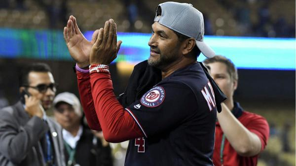 Nationals manager Dave Martinez went from hot seat in May to World Series in October