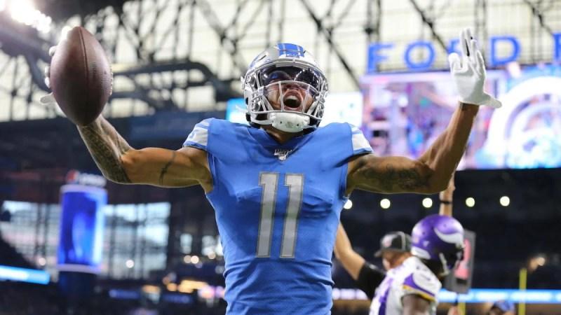 NFL Week 7 scores, highlights, updates, schedule: Marvin Jones catches three TDs in first half