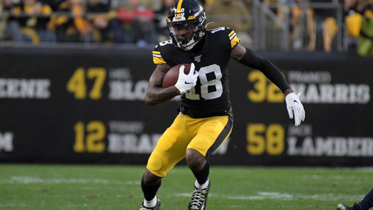Steelers' Diontae Johnson questionable to return vs. Browns after being  victimized by hit that drew ejection - CBSSports.com