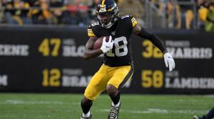 Steelers' Diontae Johnson questionable to return vs. Browns after being victimized by hit that drew ejection