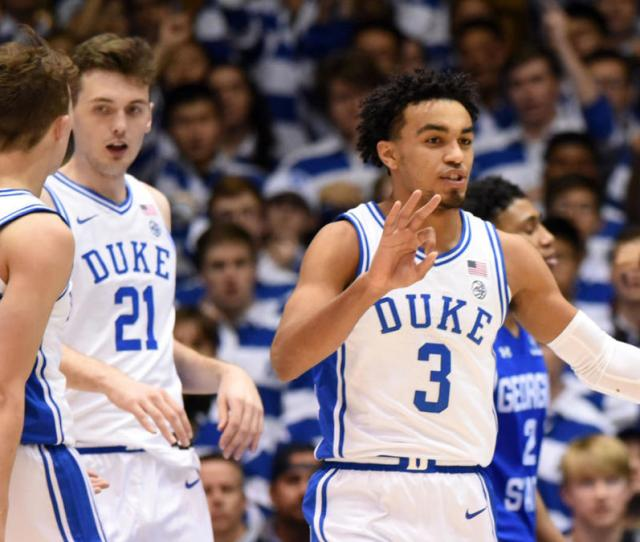 College Basketball Rankings Duke Replaces Kentucky At No  In Ap