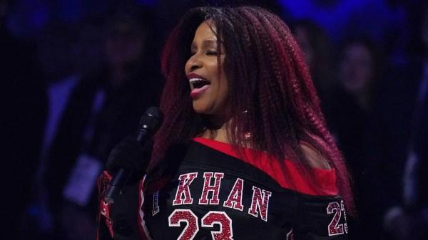 Chaka Khan sings National Anthem at NBA All-Star Game 2020