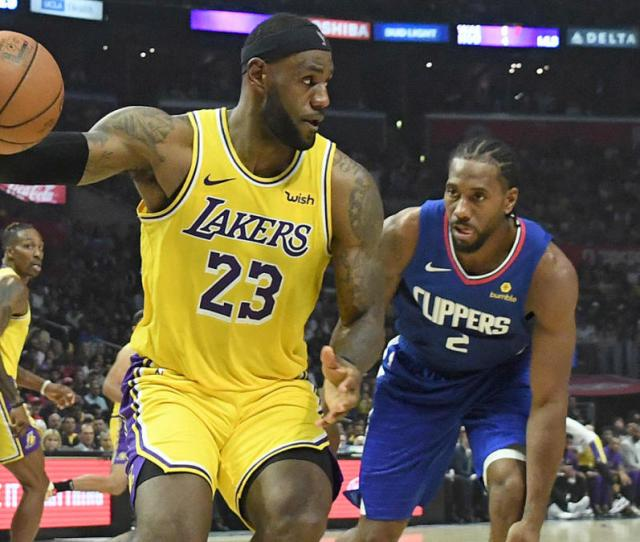 Lakers Vs Clippers How To Watch Nba Online Tv Channel Live