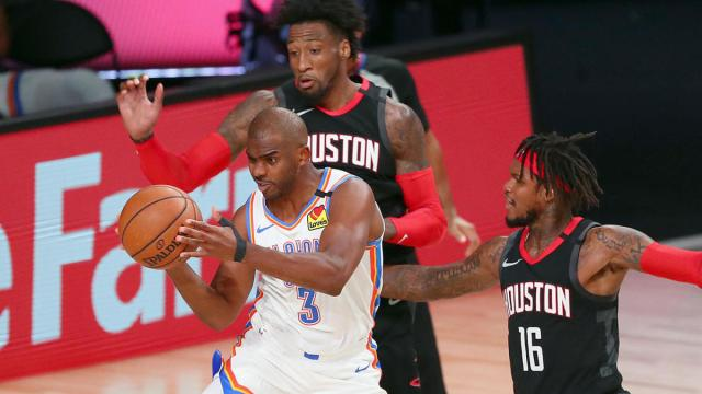 Rockets-Thunder score, takeaways: Chris Paul leads OKC to comeback ...
