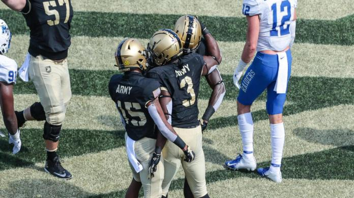 Army vs. Middle Tennessee score, takeaways: Black Knights post historic shutout in rout of Blue Raiders