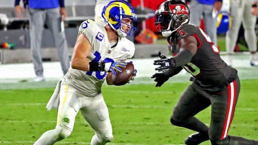 Buccaneers vs. Rams score: Cooper Kupp, Robert Woods light up Tampa's  secondary to lead Rams to Week 11 win - CBSSports.com