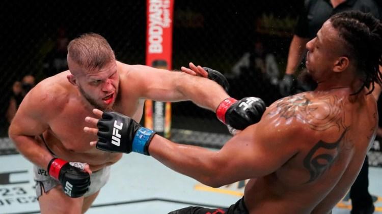 Jan isn't the only Polish Power in the UFC, as seen in Marcin Tybura's last outing against Greg Hardy. | Rozenstruik vs Sakai | Pintsized Interests
