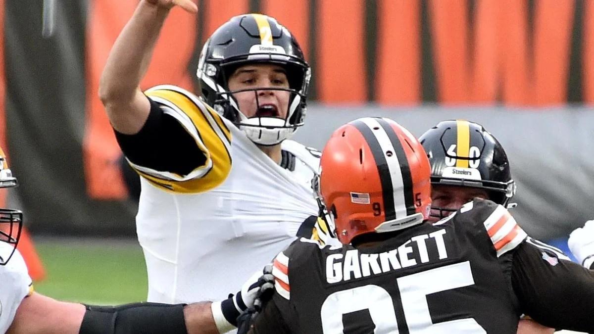 Mason Rudolph, Myles Garrett make amends following Browns' Week 17 victory over Steelers
