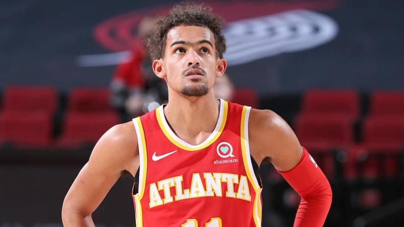 Trae Young's ill-advised 3-pointer tells larger tale: An average shooter,  at best, who thinks he's Steph Curry - News AKMI