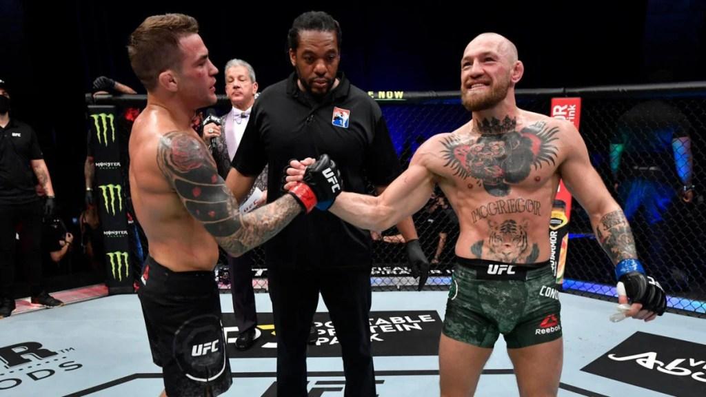 Conor McGregor loses to Dustin Poirier