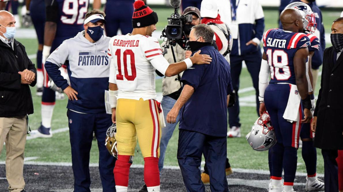 Jimmy Garoppolo or bust for Patriots? Bill Belichick could be outside  looking in on offseason QB frenzy - CBSSports.com