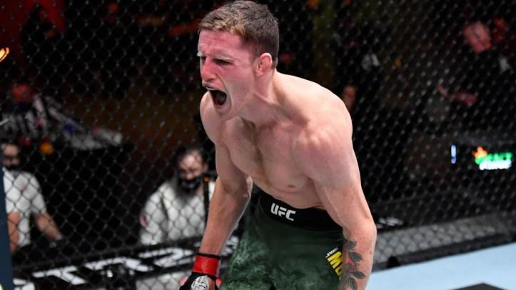 Can the gritty Aussie, Jamie Mullarkey, score another flash knockout? | UFC Fight Night 193: Santos vs Walker