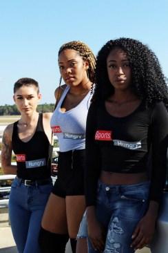Left to right; Kay,Kyla, Jasmine