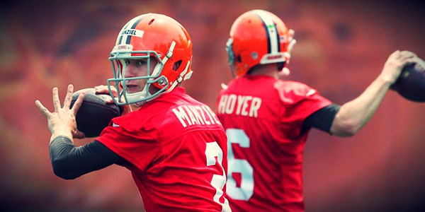 Tough Battle Between Hoyer & Manziel!