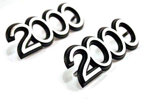 2000 Emblem Image