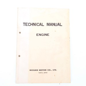 Technical Engine Manual Image