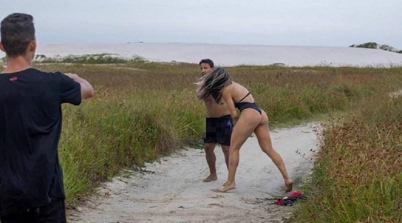 une combattante de MMA , tabasse un homme qui se masturbait dans son dos