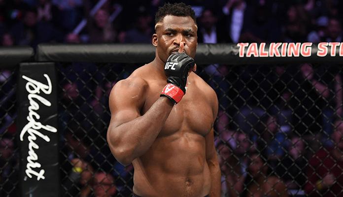 UFC : Francis Ngannou va combattre malgré le Coronavirus