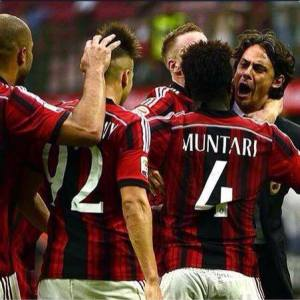 There was no celebration for Sulley Muntari and teammates
