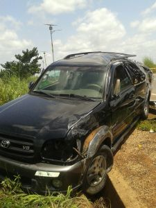 accident on tamale road