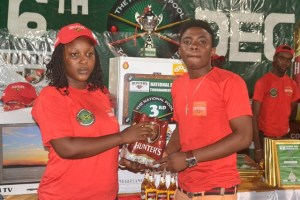 Gerald Agyepong receives 5th prize