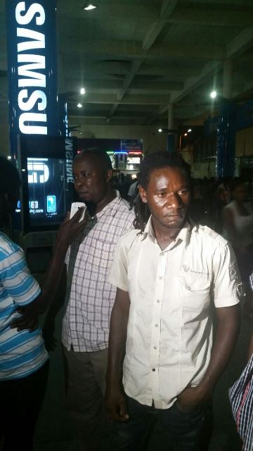 kamote on arrival at the Kotoka International Airport