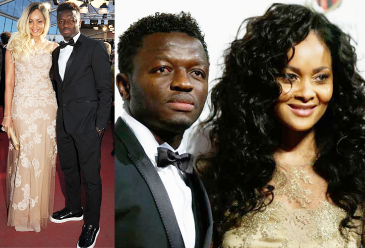 Muntari and Menaye Donkor got married on Christtmas Day 2010