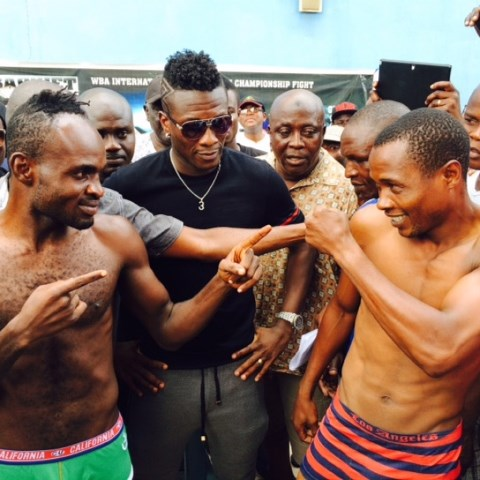 Tagoe vrs Momba weigh in