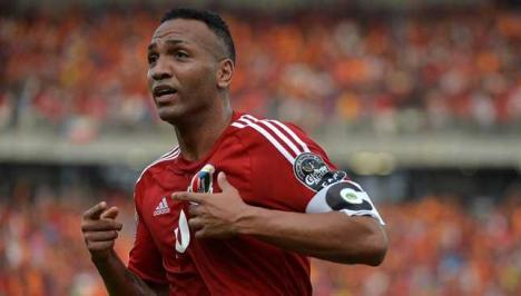 Equatorial Guine acaptain celebrates