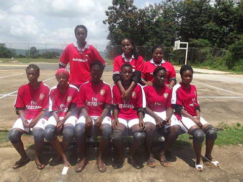 Ghana female blind team