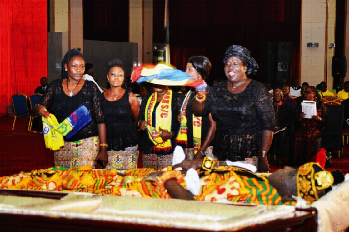 Legend - C.K. Gyamfi was buried at a State funeral in Accra last weekend