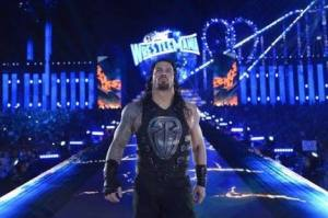 This year's Roman Reigns celebrates