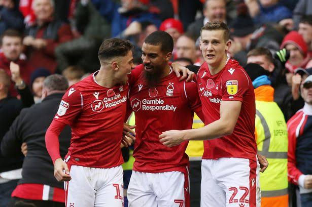 Derby County 1-1 Nottingham Forest in a Equal finish Results