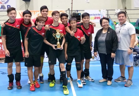 Men's Division 1st Runner-Up Singapore
