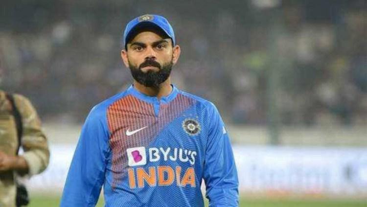 Indian Cricketer Virat Kohli , Pic - Twitter