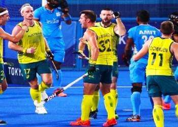 Australia vs India Tokyo Olympics Hockey Photo Social Media