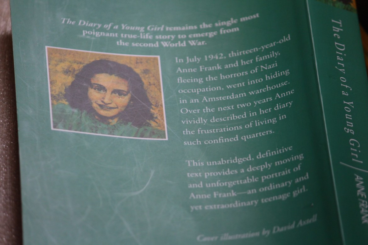 The Diary of a young girl by anne frank book review 6
