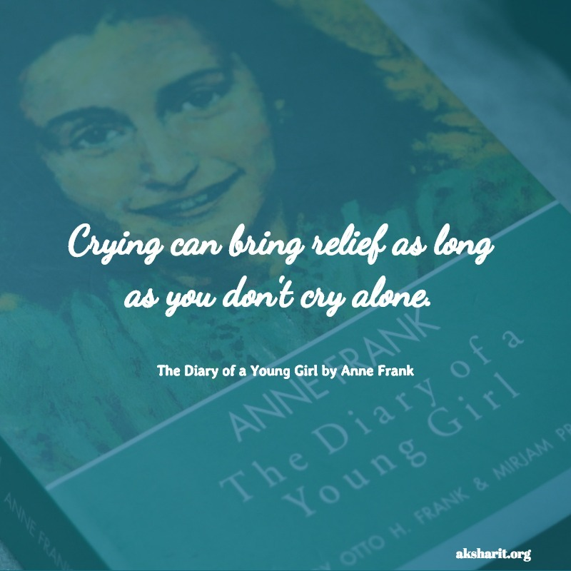 The Diary of a Young Girl by Anne Frank quotes 7