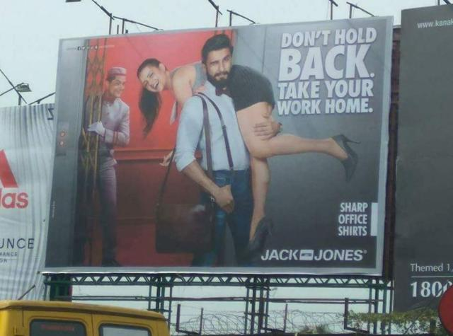 Jack and Jones Controversial ads of 2017
