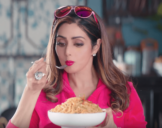 Chings Secret Masala Sridevi Brand Endorsements Brands Endorsed By Sridevi Ads TVCs Advertising