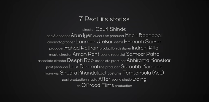 Tanishq Short FIlm Credits #LoveRemains Valentines Day