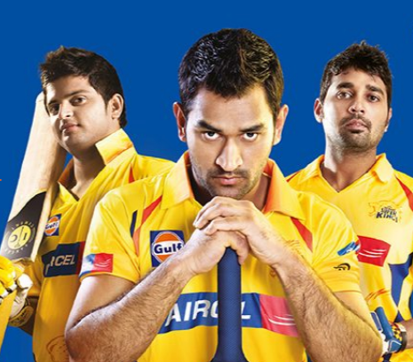 Chennai Super Kings Partners Sponsors Brands Companys Logos Jersey TVc Advert  Gulf Oil